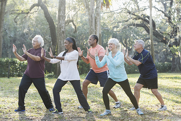 Dementia Friendly Tai Chi sessions